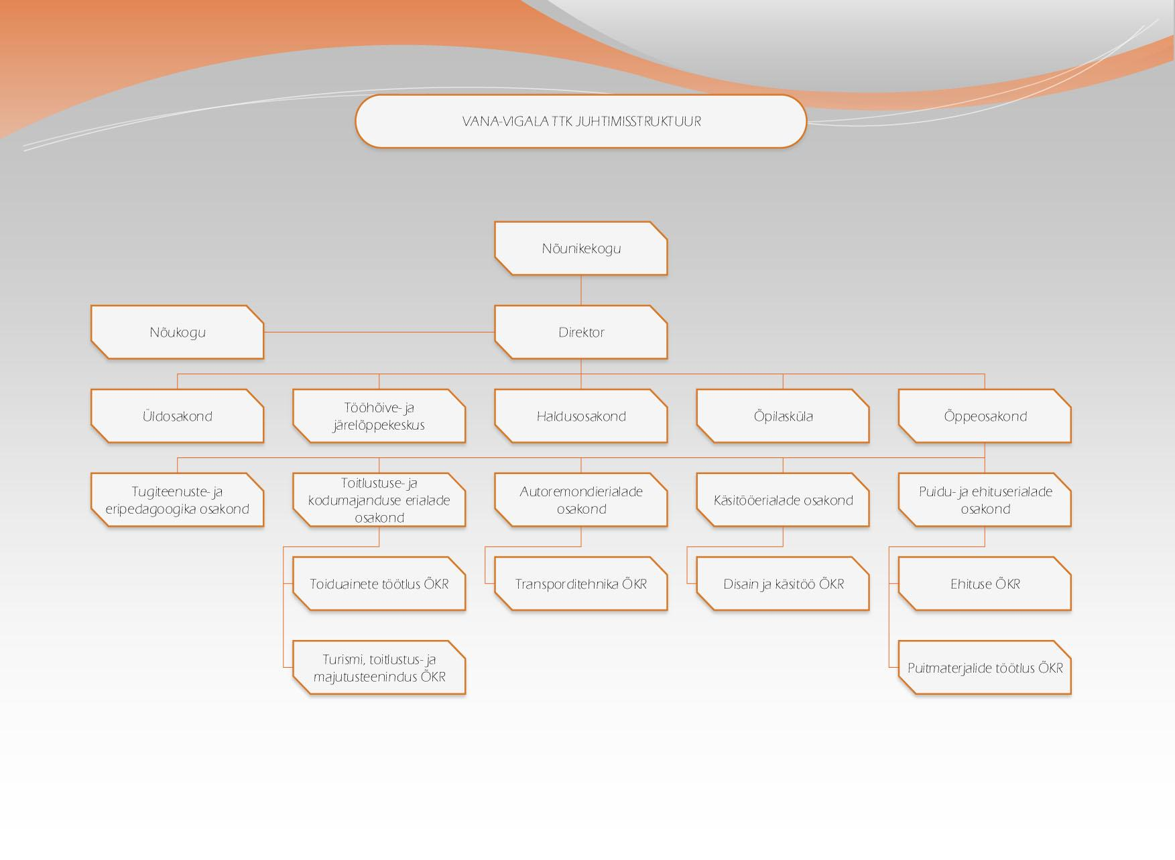 Juhtimisstruktuur