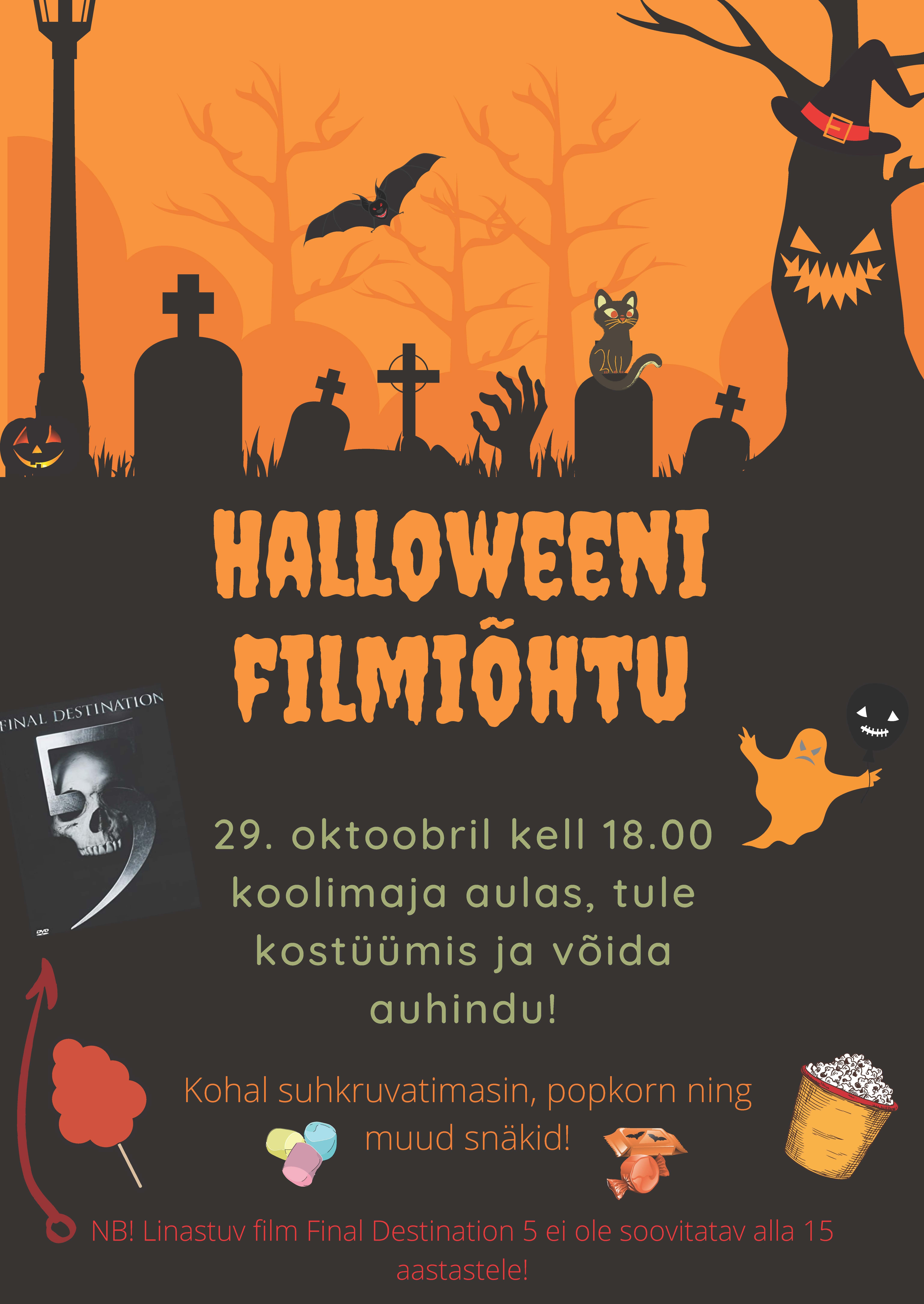 Halloweeni filmiõhtu